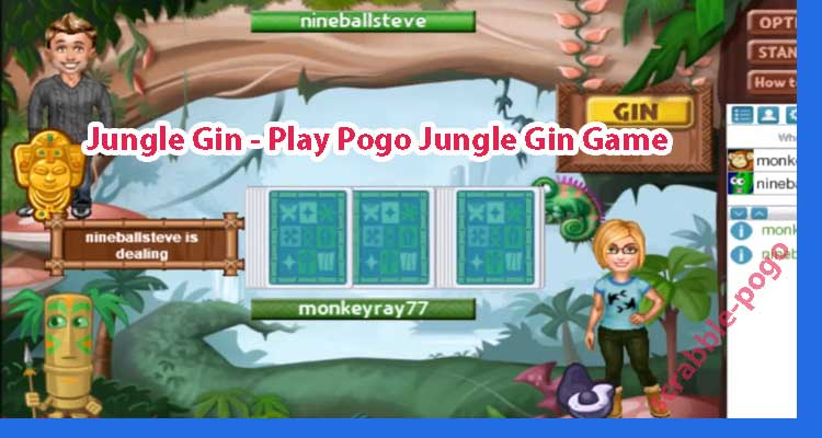 Play Pogo Jungle Gin Game