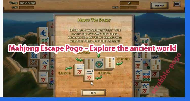 Mahjong Escape Pogo