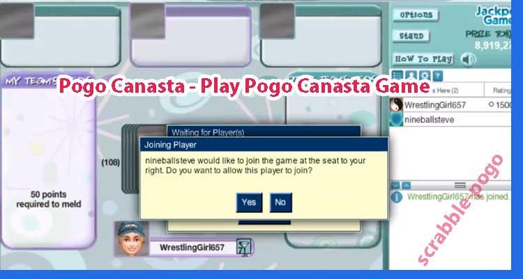 Play Pogo Canasta Game
