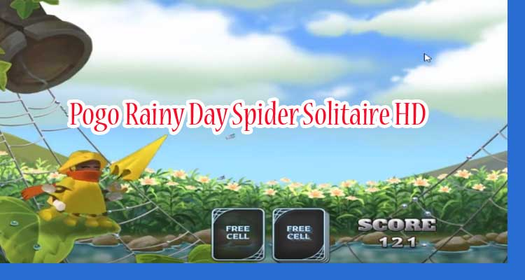 Pogo Rainy Day Spider Solitaire HD